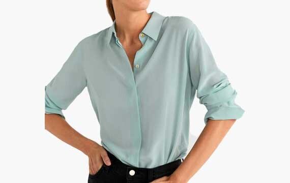 Blusa de seda - Camisa de seda