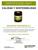Goldrys certificado 2017