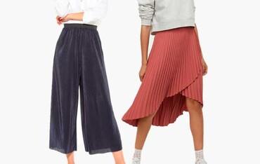 Planchado pantalón / falda lisa